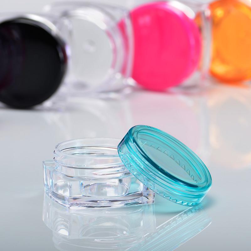 『藝瓶』瓶瓶罐罐 隨身瓶 旅行組 藥膏盒 化妝保養品分類瓶 11色透明乳霜分裝瓶