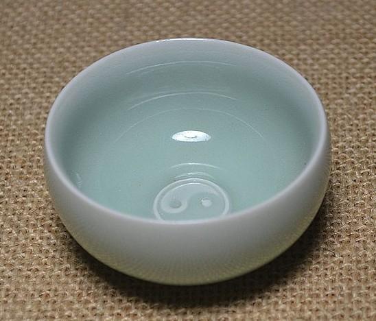 【協貿國際】八卦杯龍泉青瓷粉青茶具茶杯