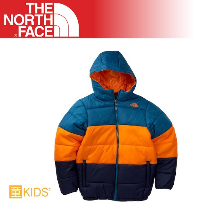 【The North Face 男童 雙面保暖外套《埃及藍》】CC24/耐磨/防寒外套/輕量