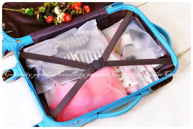 夾鏈防水袋小號20x28cm旅行拉鍊收納袋拉鍊封口袋密封收納袋夾鏈袋
