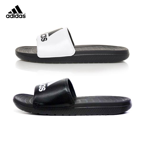 (特價) ADIDAS 愛迪達 運動拖鞋 黑色B36050 / 白色B23290 舒適VOLOOMIX W 系列