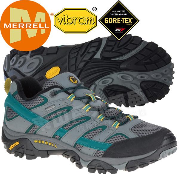 Merrell 06043 男 多功能防水登山健行鞋Moab 2 Gore Tex /GTX/耐走登山鞋/郊山鞋/健走慢跑鞋