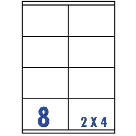 Unistar 裕德3合1電腦標籤紙 (48)US4426 8格 (20張/包)