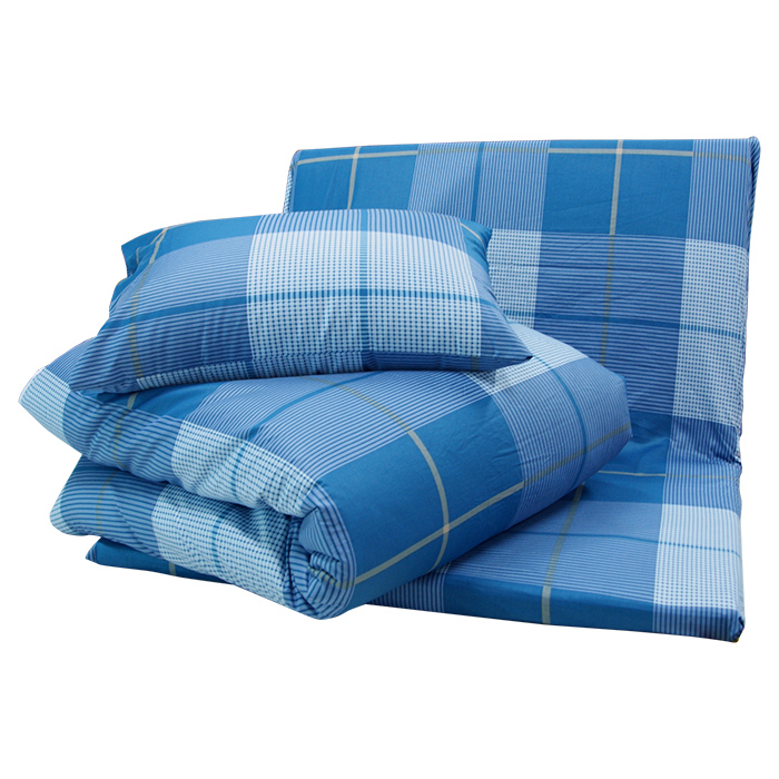 【TRP】七件式純棉亞藤床墊被枕組(花色隨機出貨)_TRP多利寶