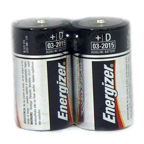 Energizer勁量1號電池D電池鹼性電池收縮2入