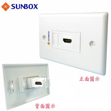 SUNBOX HDMI 面板插座 (WP-1HL)