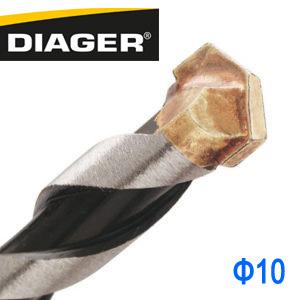 法國Diager超硬直柄水泥鑽尾鑽頭 超硬直柄鑽頭鑽尾 10mm