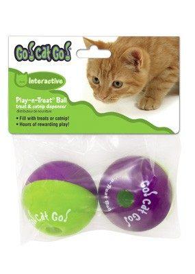 國際貓家讓您家貓咪動動腦GO CAT GO貓咪零食放置球2入組