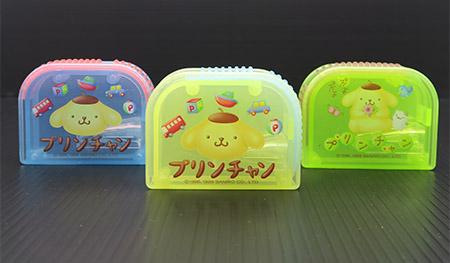 Sanrio三麗鷗布丁狗鉛筆削筆器三入組