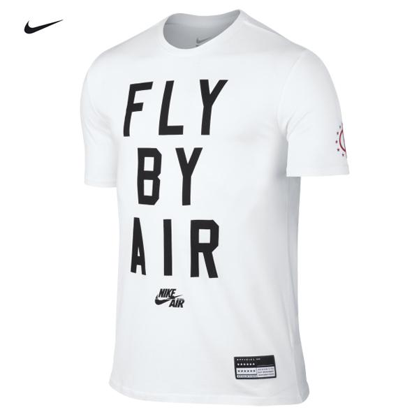 特價NIKE AIR FLY BY短袖T恤822649-100白色短T白TEE