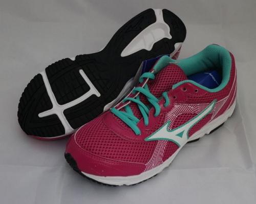 [陽光樂活] MIZUNO 美津濃 CRUSADER 9 Jr 大童鞋 K1GC152601 桃紅x白