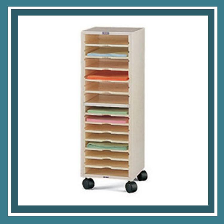 必購網OA辦公傢俱OP-903單排文件櫃附輪子置物櫃