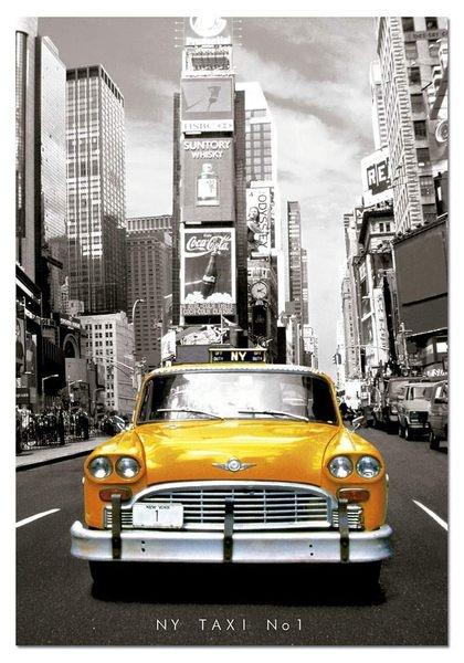 【拼圖總動員 PUZZLE STORY】紐約計程車1號 西班牙/Educa/1000P