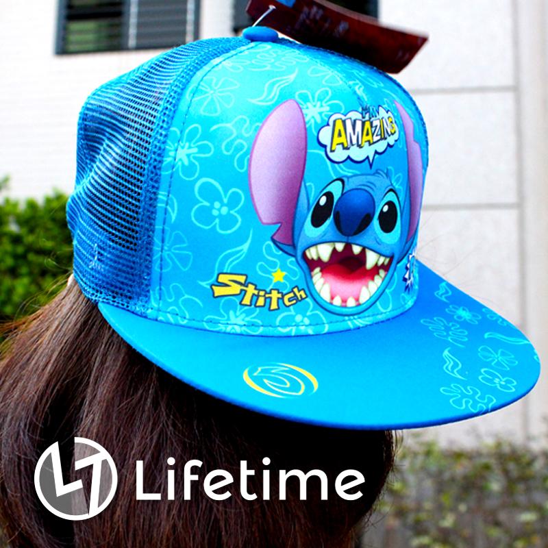 ﹝史迪奇鴨舌帽﹞正版帽子 遮陽帽 兒童帽 迪士尼〖LifeTime一生流行館〗B22612