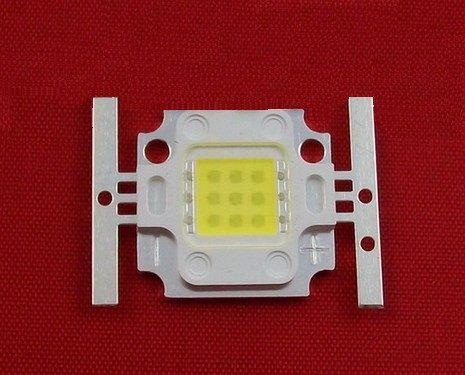 diy led燈珠 批發館10入起定每入177 魚缸用 10W led方形白光 800-900LM 10W白光 LED 12000-15000K