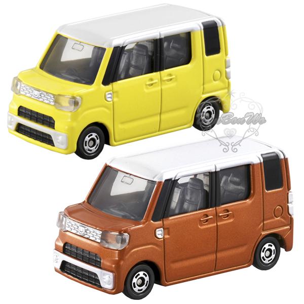 TOMY多美小汽車模型WAKE黃824589橘824602通販屋