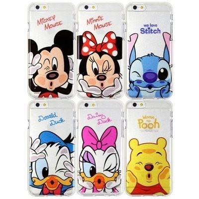 【特價/停產】韓國 迪士尼 啵啵透明軟殼 手機殼│iPhone 6/6S 7 Plus S6 Edge Note3 Note4 Note5│z6597