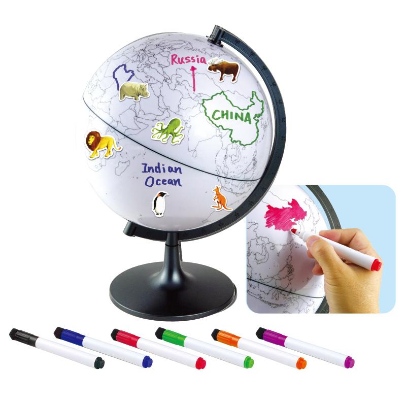 地球國家與生態地球儀EDU科學兒童幼兒教具玩具道具遊戲訓練科學觀察學習探索天氣環保