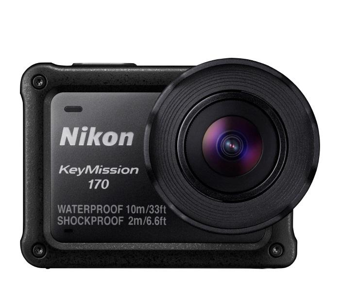 聖影數位Nikon KEYMISSION 170防水防震防凍及防塵4k運動攝影機國祥公司貨免運費