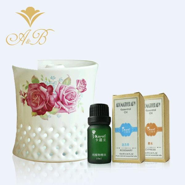 A&B陶瓷香氛水氧機M1新款上市贈送玫瑰薰衣草精油