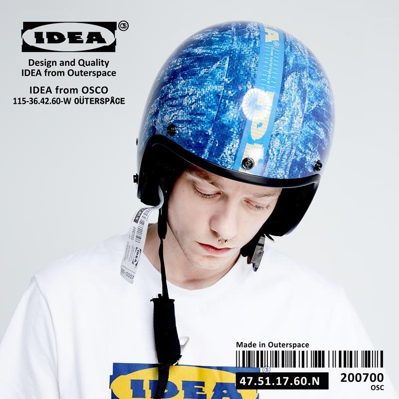 OUTER SPACE IDEA保護你安全帽