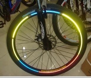 【世明國際】單車 自行車 反光貼紙 輪框貼紙 輪框貼 輪胎貼 單車百貨 自行車配件
