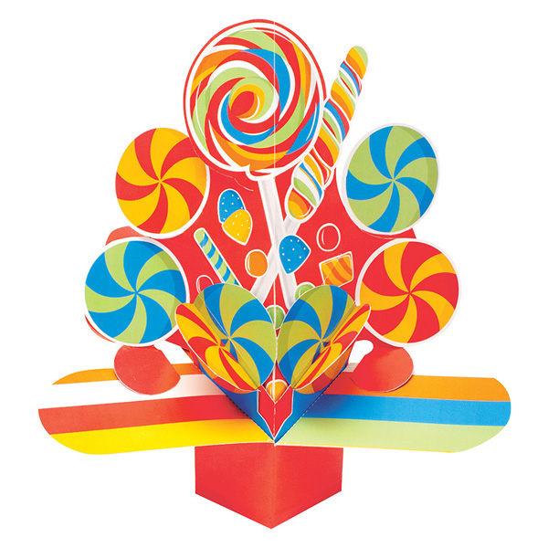 立體擺飾-糖果派對
