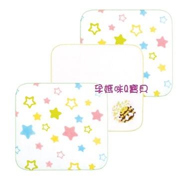 台灣製拉孚兒純棉紗布手帕(3入)100%純棉/觸感超細緻嬰兒紗布手帕99610-1