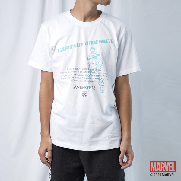 MARVEL漫威服飾 童裝親子裝 美國隊長文字款 短袖上衣T恤 [M20133502]