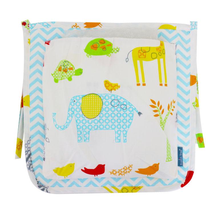 收納袋 手推車掛袋【LC0027】嬰兒床萬用收納袋 床掛袋 嬰兒床置物 玩具收納 衣物收納 汽車收納