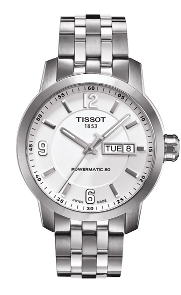 天梭TISSOT PRC200 Powermatic80機械腕錶T0554301101700原廠公司貨