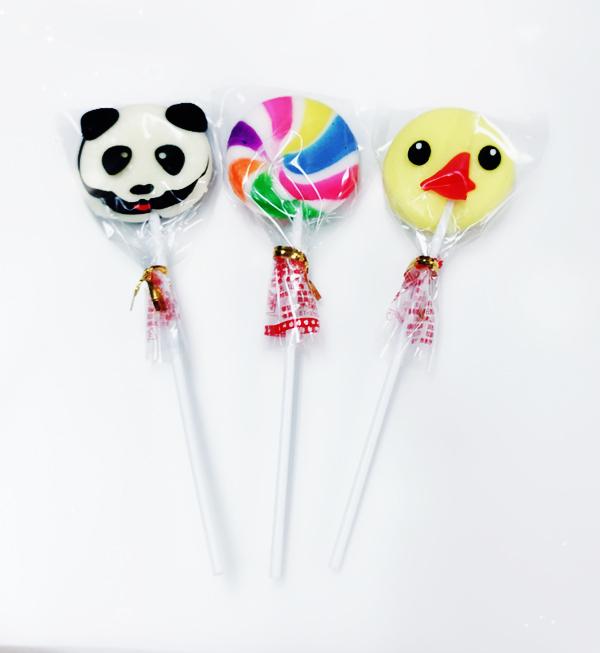 娃娃屋樂園~單支.小鴨/小熊貓棒棒糖 每支8元/第二次進場/婚禮花束
