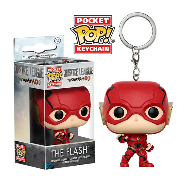 Funko POP!系列 Q版 DC 正義聯盟 電影版 Justice League The Flash 閃電俠 鑰匙圈