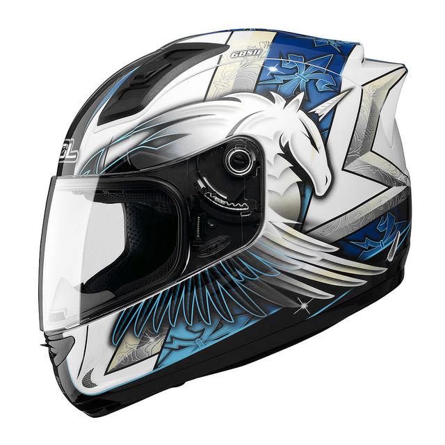 SOL 68Sll獨角獸三代全罩安全帽白藍69S免運費加贈好禮