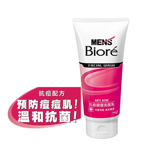 MEN s Biore男性專用抗痘調理洗面乳100g花王旗艦館