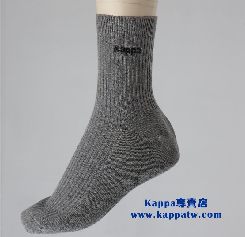 Kappa 男生休閒襪-中麻灰(薄底) SM42 -M220-7