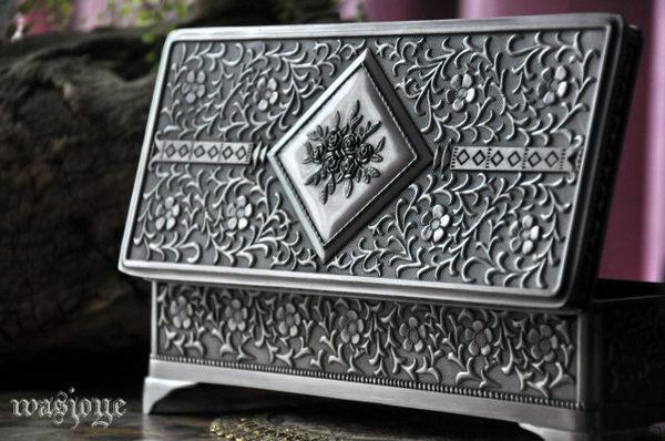 古典歐式哥特 阿曼尼大廳 大號公主首飾盒