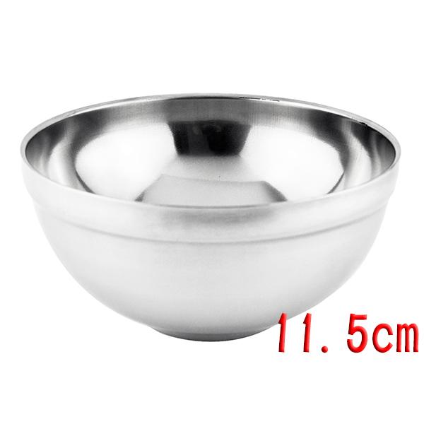 台式磨砂隔熱碗/兒童碗/飯碗/環保餐具11.5公分