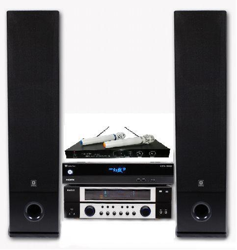 金嗓電腦公司CPX-900 M-320歡喜卡拉OK組合CPX-900 M320電腦伴唱機擴大機EGL-1688BF喇叭EWM-P28麥克風