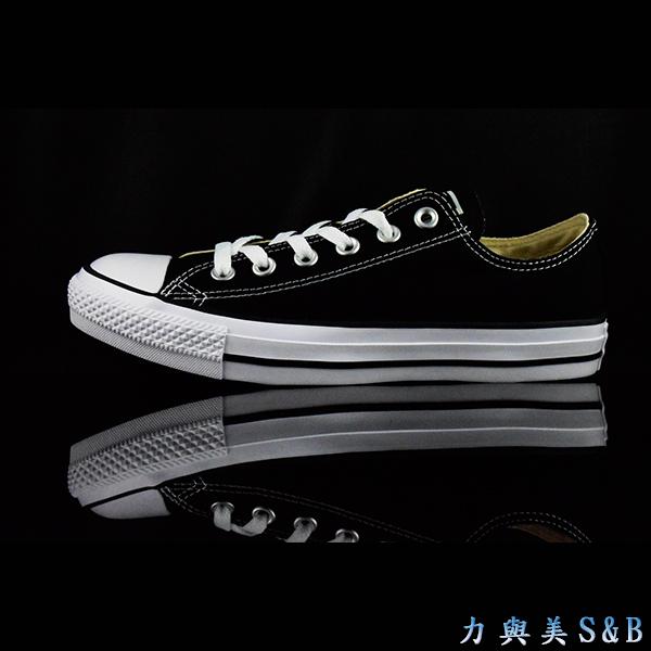 帆布鞋低筒黑色CONVERSE ALL STAR 198