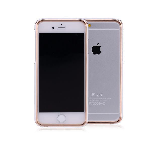 文藝復興系列達芬奇iPhone6 6s金屬邊框-玫瑰金白
