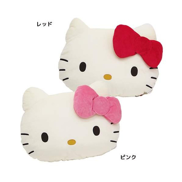 尼德斯Nydus*日本正版三麗鷗凱蒂貓Hello Kitty抱枕靠枕娃娃70年代復古款