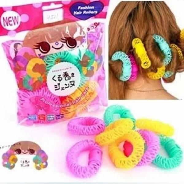 甜甜圈髮圈 快速熱吹捲髮器 造型髮圈【省錢博士】