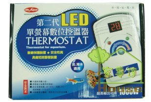 台中水族MR.AQUA第二代單螢幕控溫器1000W特價