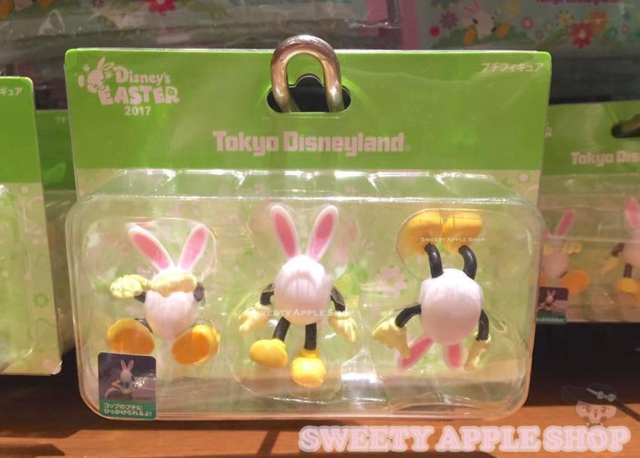 東京迪士尼限定 復活節 兔耳蛋 杯緣子組