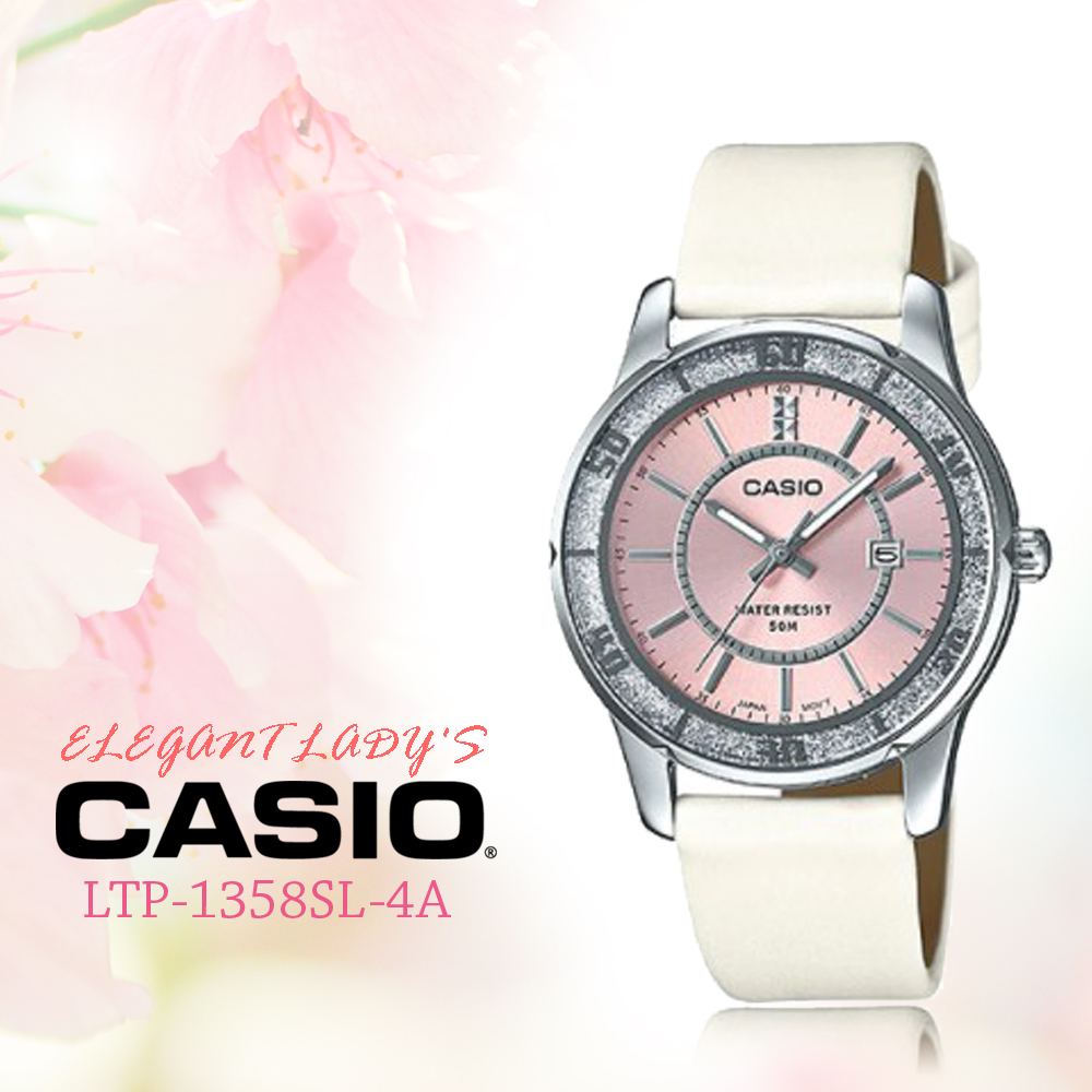 CASIO手錶專賣店CASIO LTP-1358SL-4A女錶全新品保固一年開發票