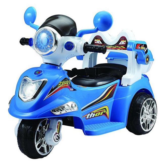 寶貝樂衛士摩托車-藍色BTY1015B