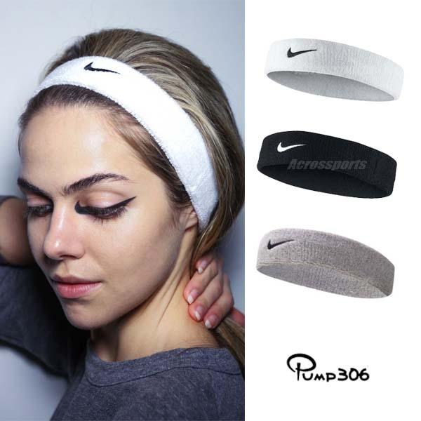 Nike Swoosh HeadBand 毛巾布 男女適用 髮帶 頭帶 三色任選【PUMP306】