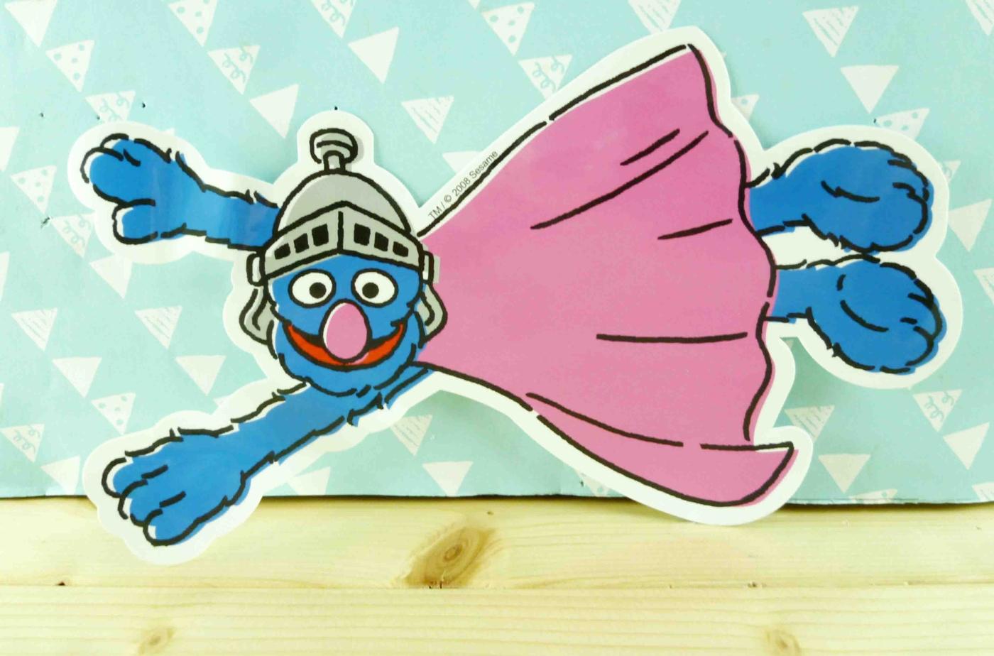 【震撼精品百貨】Sesame Street_芝麻街~造型貼紙-粉飛