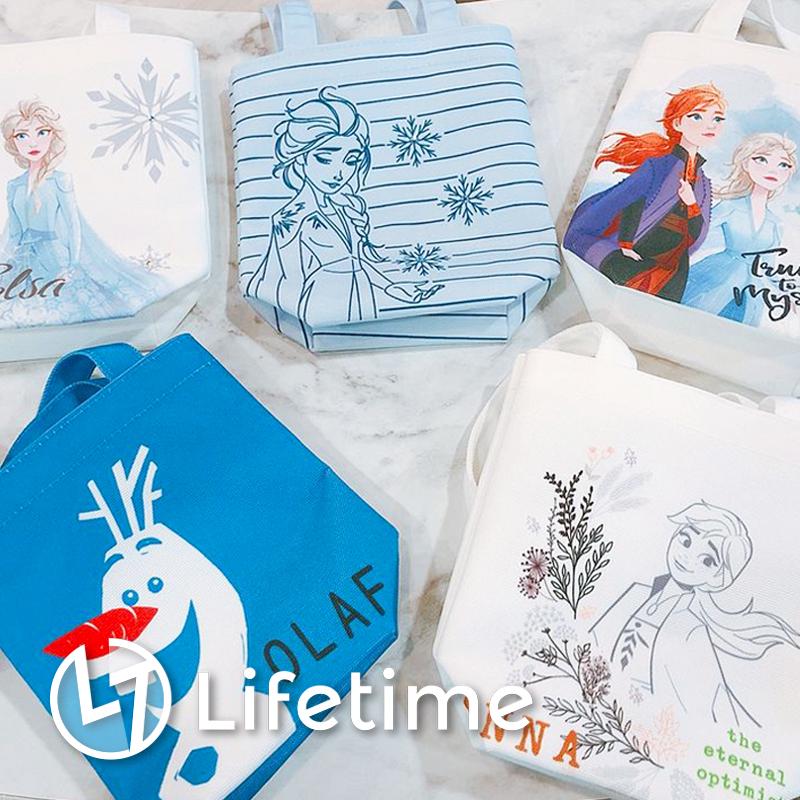 ﹝冰雪奇緣飲料袋﹞7-11集點 小提包 手提袋 飲料提袋 冰雪奇緣2〖LifeTime一生流行館〗